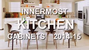 innermost kitchen cabinet catalog 2014 15 at home depot youtube