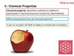 the properties of matter 8th grade