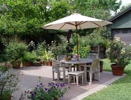 Closed In Patio Small Yard Landscaping Pictures Gallery Landscaping Network