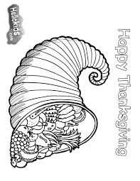 thanksgiving cornucopia coloring pages thanksgiving coloring pictures