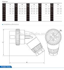sale australia 3 phase industrial power 4 pins plug 32a 500v