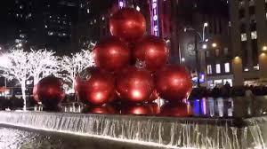 christmas lights in new york city 2015 youtube