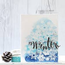 christmas cards in watercolor hello crafty friends yoonsun here i m with you my simple