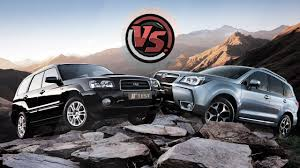 subaru forester 2016 2hp subaru forester 2016 vs subaru forester 2004 youtube