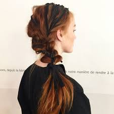 ribbon ponytail 27 ponytail hairstyles for 2018 best ponytail styles
