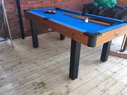 3 in one pool table bce 6ft x 3ft pool table with 3 cues and one set of balls 149 99