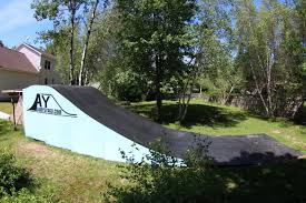 Backyard Bmx Park Andy U0027s Yard Resi Ramp Material