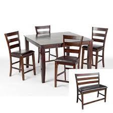 6 piece counter height dining set nebraska furniture mart