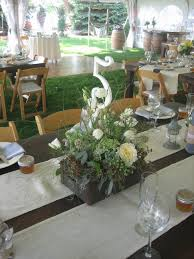 simple decorative ideas for a backyard wedding reception fort