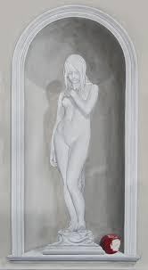 Trompe L Oeil Wallpaper Trompe L U0027œil And Grisaille Mural Gallery For Gordon Collett Murals