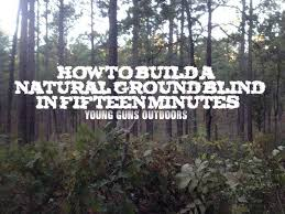 Best Hunting Ground Blinds How To Build A Natural Ground Blind In 15 Minutes Youtube