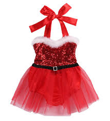 santa baby sequin christmas romper with tulle skirt red u2013 angora