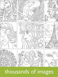 Colorfy Coloring Book For Adults Free Android Apps On Google Play Free Coloring