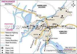 map ot pathankot district map