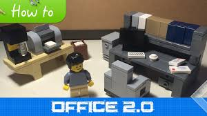 lego office how to make lego office furniture moc 2 1 extended collection