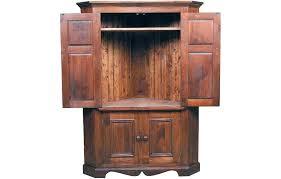 cherry corner media cabinet corner tv armoire flat screen corner media armoire ezpass club