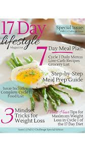 17 day lifestyle lose weight be healthy with the 17 day diet