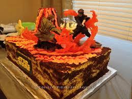 some cool wars cake wars mustafar wars battle cake wars and war