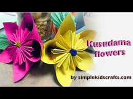 Paper Flowers Video - diy how to make tissue paper flowers beautiful flowers video