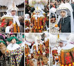 the carnival of binche unesco designated festival in belgium