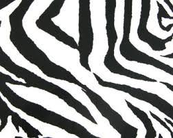 Zebra Valance Curtains White Valance Etsy