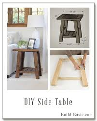 Diy Wooden Bedside Table by Best 25 Side Tables Ideas On Pinterest Side Tables Bedroom