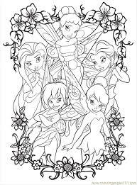 disney characters fairies iridessa coloring sheet disney
