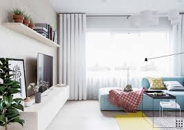 scandinavian apartment design with beautiful and cute style
