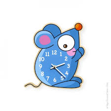horloge chambre bébé horloge souris déco chambre bébé et enfant série golo