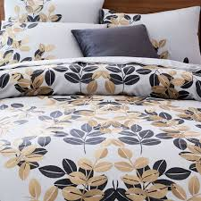 West Elm Duvet Covers Sale Organic Gilded Leaves Sateen Duvet Cover Shams West Elm For