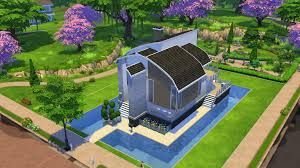 Building A Pool House The Sims 4 Tutorial Building A Pool Next To Foundation