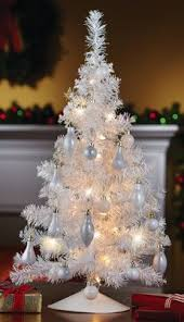 simple ideas white tabletop tree 80 best tinsel images