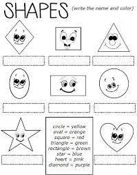 1st grade shapes worksheets worksheets