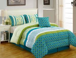 Blue Bed Set Bedding Set Enthrall Rare White Green And Blue Bedding Beloved