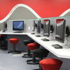 design cyber cafe furniture cyber cafe 450 south suburban college