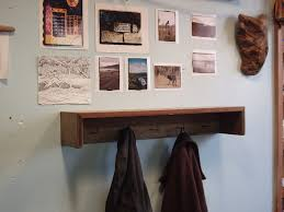 driftedge woodworking rustic industrial shabby chic coat rack