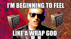 Wrapping Presents Meme - how i feel after wrapping more presents in an afternoon than