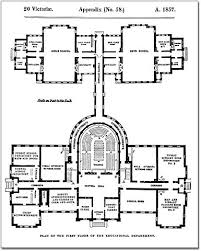 file architectural measured drawings showing the floor plans of