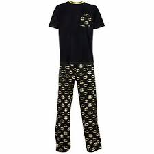 mens batman pyjamas batman pyjamas set batman pjs ebay