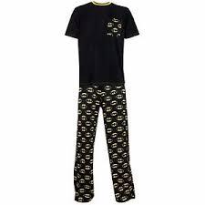 mens batman pyjamas batman pyjamas set batman pjs ebay