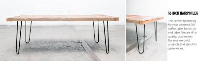 hair pin legs 16 heavy duty hairpin legs satin black mid century modern