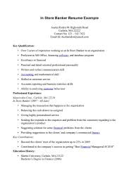 Sample Personal Banker Resume by 100 Bankers Resume Banking Essays Investment Banking Resume