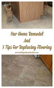 Replacing Laminate Flooring Our Home Remodel And 7 Tips For Replacing Flooring