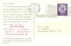 postcards advertising vintage christmas cards postcardy com