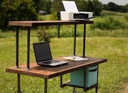 Shabby Chic Computer Desks Reclaimed Wood Desk Computer Desk Home Office Desk Barn