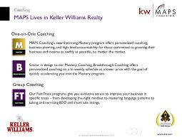 maps coaching a keller williams realty career