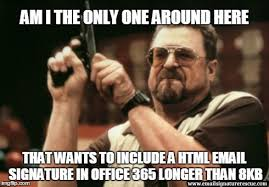 Email Meme - am i the only one around here that wants to include a html email