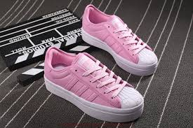 what compliments pink preferences womens adidas pink white shoes adidas superstar rize