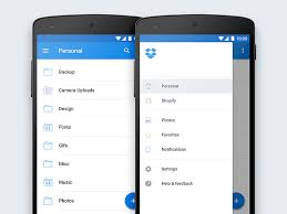 dropbox app for android dropbox for android material redesign by evan dinsmore dribbble