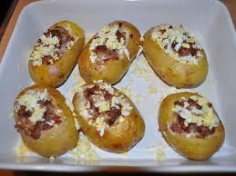 recette de cuisine a base de pomme de terre recette pommes de terre farcies cuisinez pommes de terre farcies